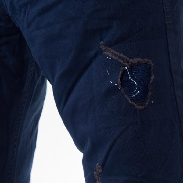 Ανδρικό παντελόνι Back2jeans Blue με λάστιχο