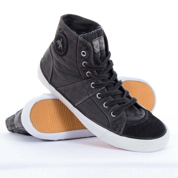 Ανδρικά Παπούτσια Funky Buddha Ανθρακί