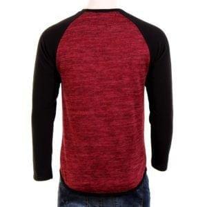 Ανδρική μπλούζα Freewave Κόκκινη-Μαύρη