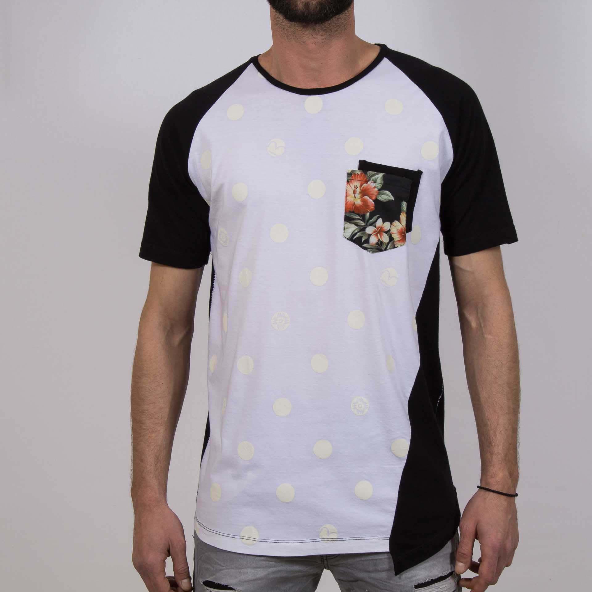 Ανδρική μπλούζα T-Shirt #Hashtag Flower