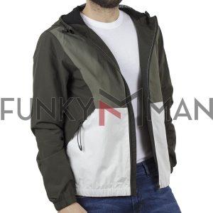 Ελαφρύ Αντιανεμικό Μπουφάν Jacket BLEND 20707534 Πράσινο