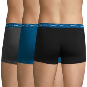 Σετ 3 Εσώρουχα Boxer DIM 6596 3-Pack Μαύρο & Γκρι & Μπλε