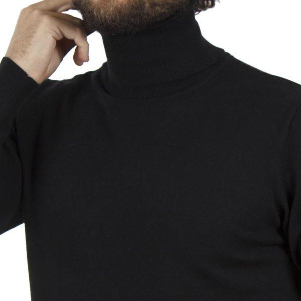 Ζιβάγκο Πλεκτή Μπλούζα SMART & CO 40-206-020 Μαύρο