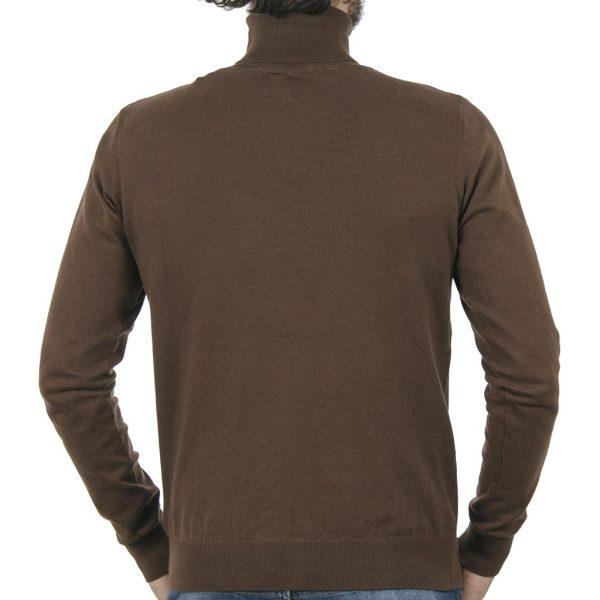 Ζιβάγκο Πλεκτή Μπλούζα SMART & CO 40-206-020 Camel