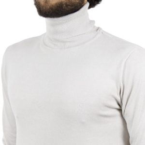 Ζιβάγκο Πλεκτή Μπλούζα SMART & CO 40-206-020 Ice Λευκό
