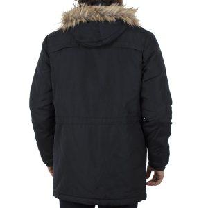 Μακρύ Μπουφάν Parka Jacket με Κουκούλα BLEND 20706799 Μαύρο