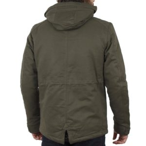 Μακρύ Μπουφάν Parka Jacket με Κουκούλα ICE TECH A500-17 Πράσινο