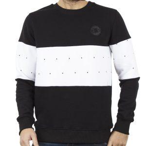 Μπλούζα Φούτερ PONTE ROSSO SPOTS 18-2045 Μαύρο