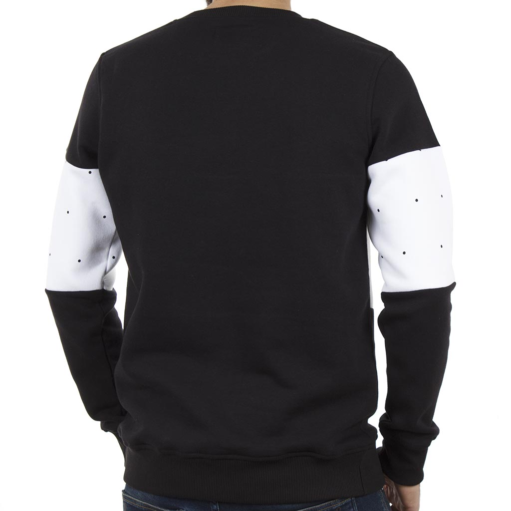 Μπλούζα Φούτερ PONTE ROSSO SPOTS 18-2045 Μαύρο  dccf104f60a
