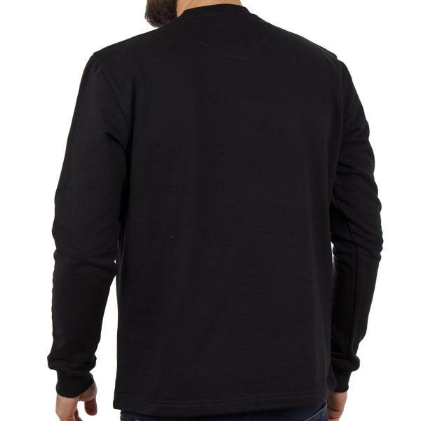 Μακρυμάνικη Μπλούζα CARAG 66-266-19N Μαύρο