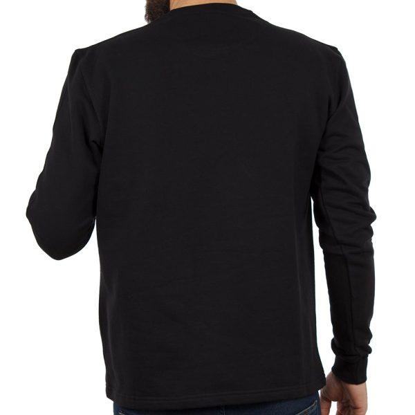 Μακρυμάνικη Μπλούζα CARAG 66-277-19N Μαύρο