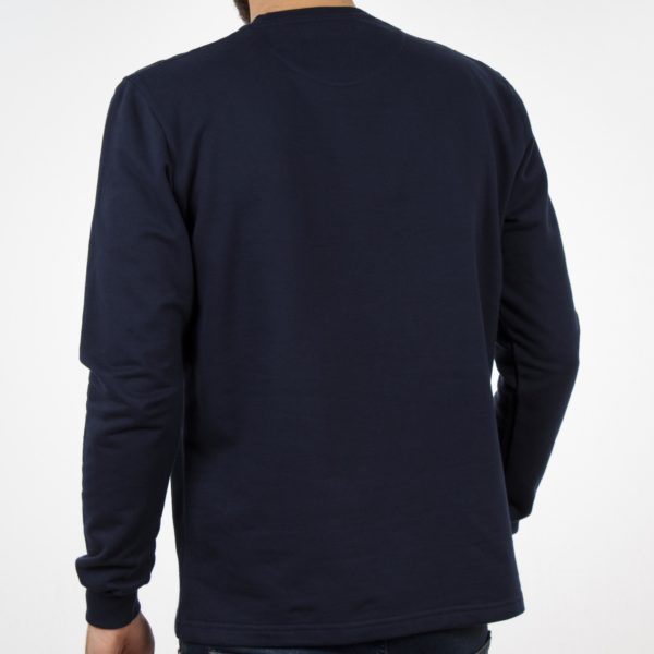 Μακρυμάνικη Μπλούζα CARAG 66-277-19N Navy