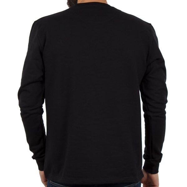 Μακρυμάνικη Μπλούζα CARAG 66-288-19N Μαύρο