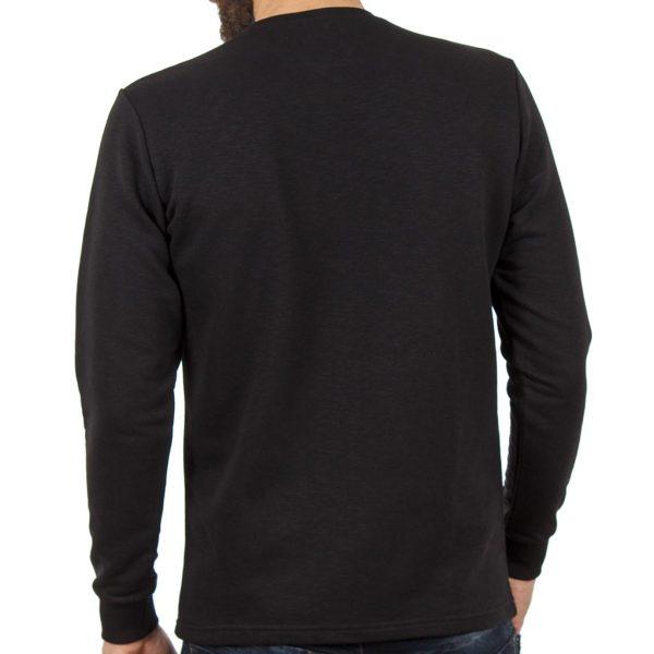Μακρυμάνικη Μπλούζα Cotton4all 19-640 Μαύρο