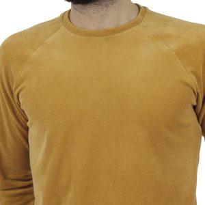Μακρυμάνικη Βελουτέ Μπλούζα FREE WAVE 82125 Mustard