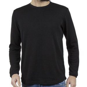 Πλεκτή Μπλούζα #HASHTAG W18028 PARMA Μαύρο