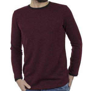 Πλεκτή Μπλούζα #HASHTAG W18028 PARMA Μπορντό