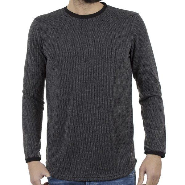 Πλεκτή Μπλούζα #HASHTAG W18028 PARMA Γκρι
