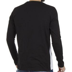 Μακρυμάνικη Μπλούζα PONTEROSSO 18-2039 LONG Μαύρο
