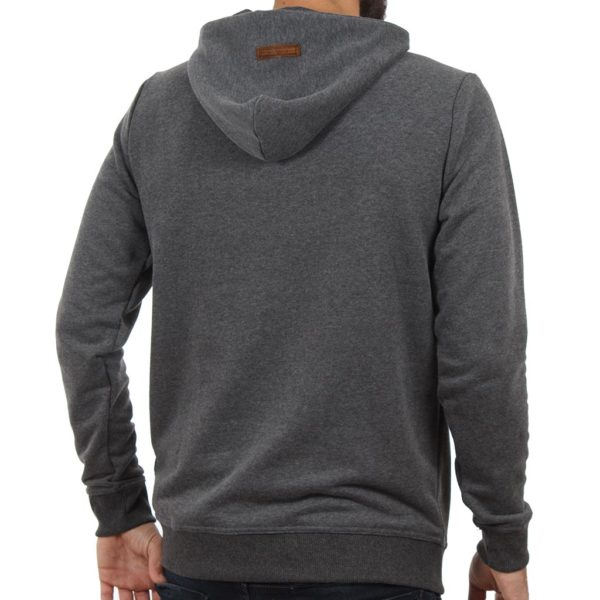 Μπλούζα Φούτερ με Κουκούλα HOODIE SCINN ST016 σκούρο Γκρι