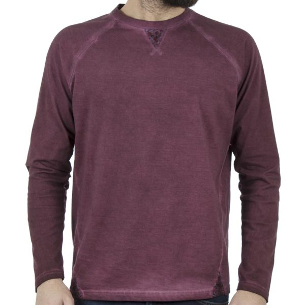 Μακρυμάνικη Μπλούζα SNTA SW16-1-73 Μπορντό