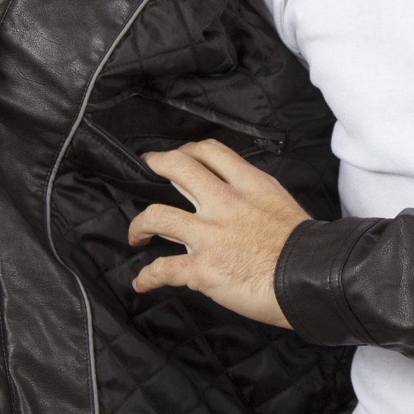 Μπουφάν Flight Bomber Jacket SPLENDID 40-201-062 σκούρο Καφέ