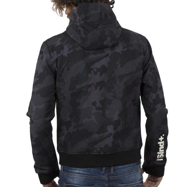 Μπουφάν Jacket SPLENDID 40-201-034C σκούρο Γκρι παραλλαγής