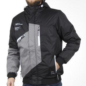 Μπουφάν Jacket με Κουκούλα SPLENDID 40-201-085 σκούρο Γκρι