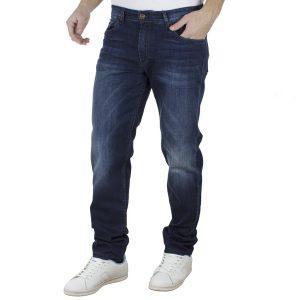 Τζιν Παντελόνι Regular Fit DAMAGED Jeans D30 Μπλε