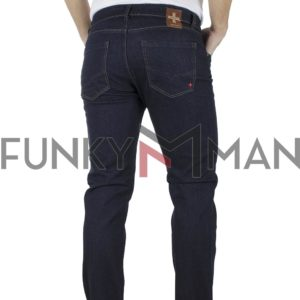 Τζιν Παντελόνι DAMAGED jeans Regular D30A σκούρο Μπλε
