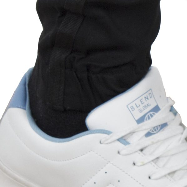 Jean Παντελόνι Chinos με Λάστιχα DAMAGED jeans D6B Μαύρο