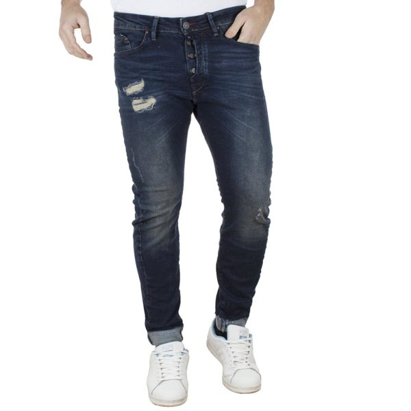 Jean Παντελόνι Slim Fit REDSPOT BART DD Μπλε