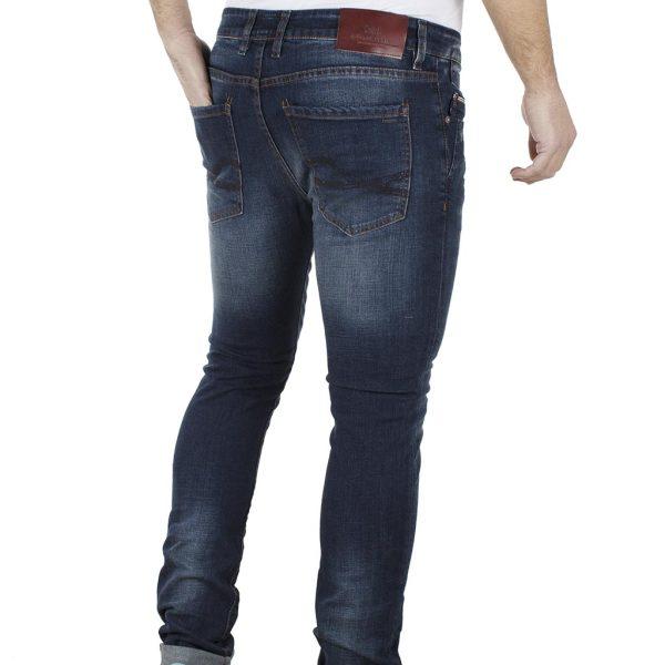 Jean Παντελόνι Slim Fit REDSPOT JEY L Μπλε
