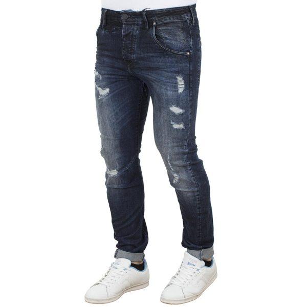 Τζιν Chinos Παντελόνι Slim Fit REDSPOT SLAYER Μπλε