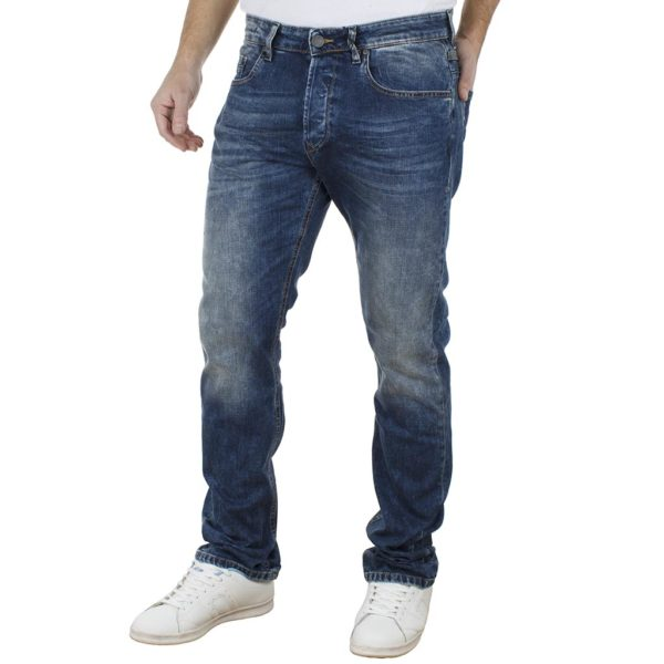 Τζιν Παντελόνι Regular Fit SCINN ZACK-SL Μπλε