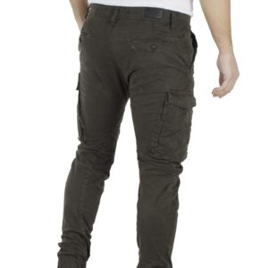 Cargo Παντελόνι DAMAGED jeans Army D37B Χακί