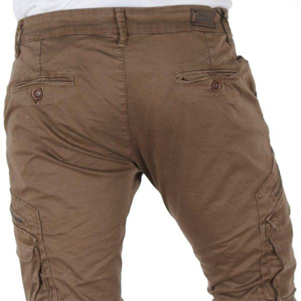 Παντελόνι Chinos Cargo Back2jeans Boy W22 Beige