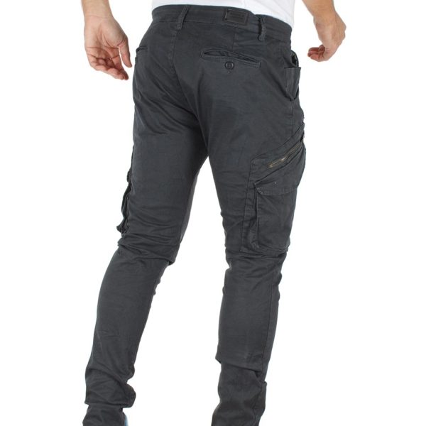Παντελόνι Chinos Cargo Back2jeans Boy W22 Stone Blue