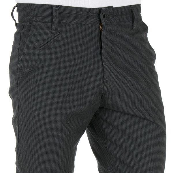 Παντελόνι Casual Chinos COVER NEW BUTTER W10074 σκούρο Γκρι