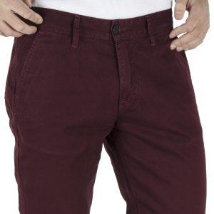 Παντελόνι Casual Chinos DAMAGED A179-T82 Wine Red