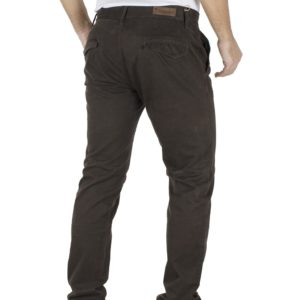 Παντελόνι Casual Chinos DAMAGED jeans 61-T82 Καφέ