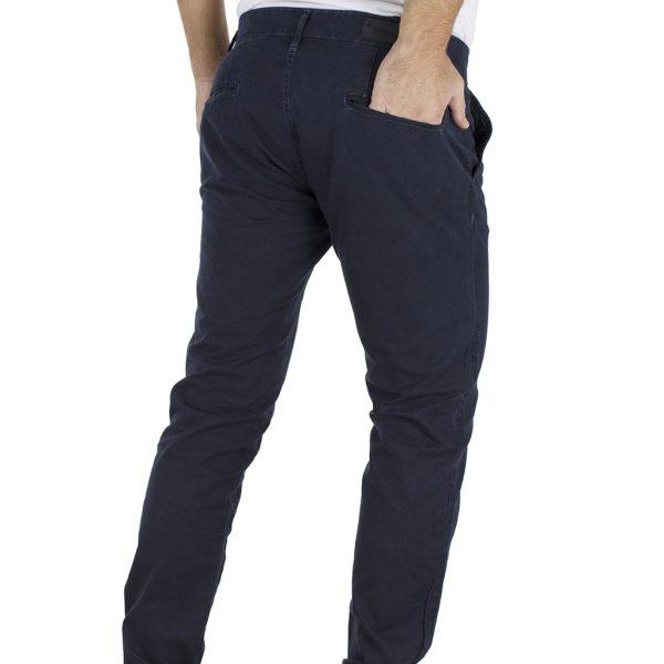 Παντελόνι Casual Chinos DAMAGED jeans 61-T82 Navy
