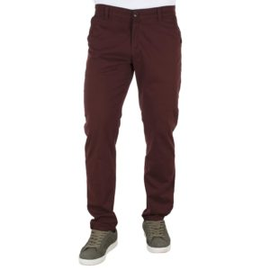 Παντελόνι Casual Chinos DAMAGED jeans D53 Wine Red
