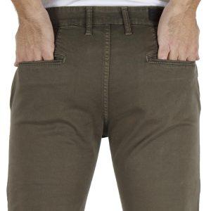 Παντελόνι Casual Chinos DAMAGED jeans MOD 1 Χακί
