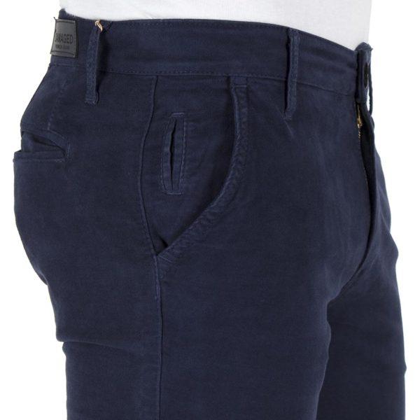 Παντελόνι Casual Chinos DAMAGED jeans MOD 2 Μπλε
