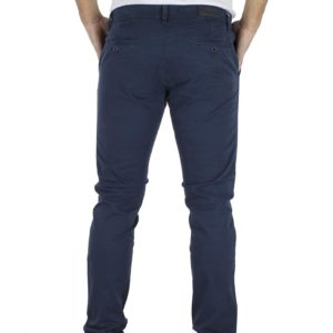 Παντελόνι Casual Chinos DAMAGED jeans T61 Μπλε