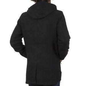 Παλτό-Μπουφάν Parka με Κουκούλα SPLENDID 40-201-044 Μαύρο