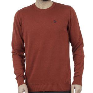 Πλεκτή Μπλούζα Garage55 GAM201-09218 Red Brick