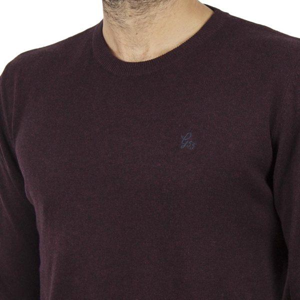 Πλεκτή Μπλούζα Garage55 GAM201-09218 Βουργουνδί