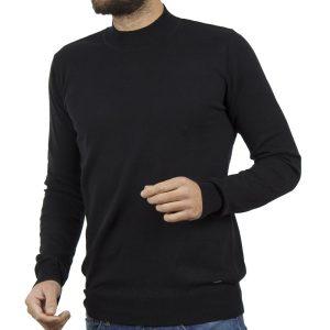 Πλεκτή Μπλούζα Πουλόβερ Garage55 GAM221-09218 Μαύρο